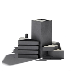 22designstudio Tangram City Sculpture - Concrete