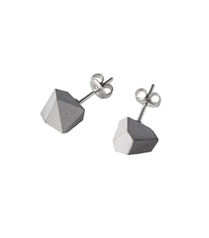 22 DESIGN STUDIO Earrings - Concrete Rock