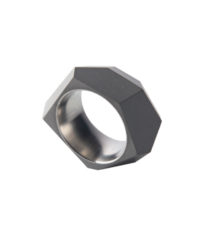 22 DESIGN STUDIO Concrete Ring - Rock