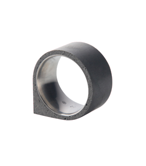 22 DESIGN STUDIO Concrete Ring - Corner