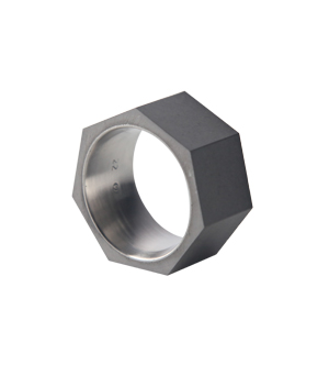 22 DESIGN STUDIO Concrete Ring - Seven