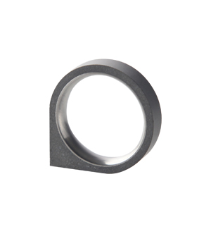 22 DESIGN STUDIO Concrete Ring - Corner Thin
