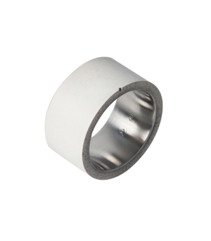 22 DESIGN STUDIO Concrete Ring - Tube White