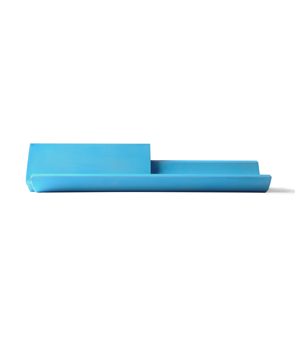 22 DESIGN STUDIO Merge - Cardholder/Tray Blue