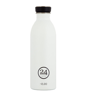 24 BOTTLES Urban Bottle 500ml - Ice White