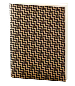 APPA DELIGHT Simple Notebook - Houndstooth
