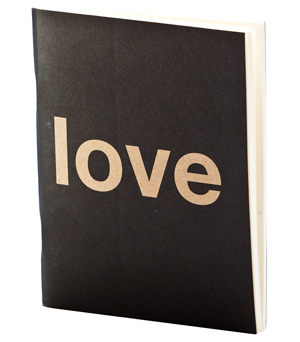 APPA DELIGHT Simple Notebook - Love-Hate
