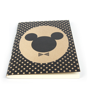 APPA DELIGHT Simple Notebook - Mickey Minnie Dot