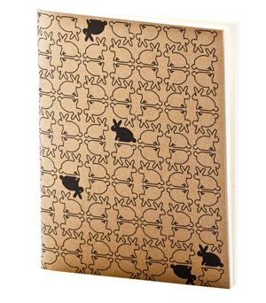 APPA DELIGHT Simple Notebook - Rabbit Black