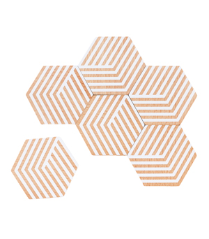 AREAWARE Table Tiles - Optic White