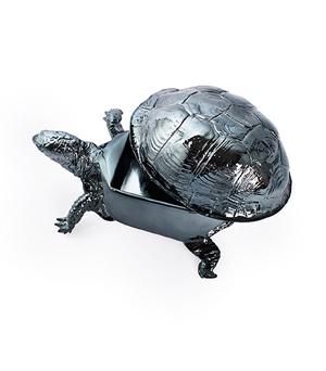 AREAWARE Reality Turtle Box - Gun Metal