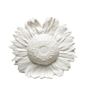 AREAWARE Reality Sunflower Vase - White
