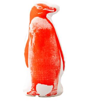 AREAWARE Pico Cushion - Penguin Orange