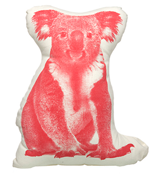 AREAWARE Mini Cushion - Koala Red
