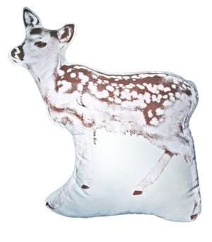 AREAWARE Large Cushion - Fawn Brown