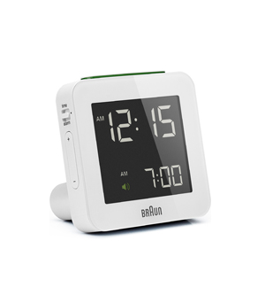 BRAUN Digital Alarm Clock Square BNC009 - White