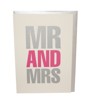 BOB'S YOUR UNCLE Card - Mr & Mrs
