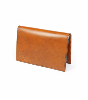CRAFT DESIGN TECHNOLOGY Leather Business Card Case - Cinnamon