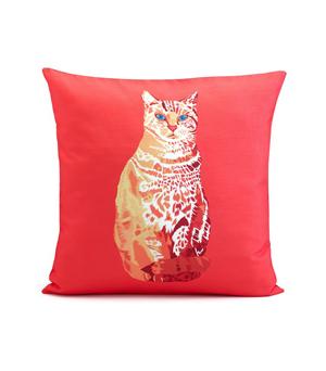 CHLOE CROFT LONDON Silk Cushion - William