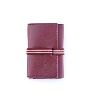DOUBLE00 Wallet - Bordeaux