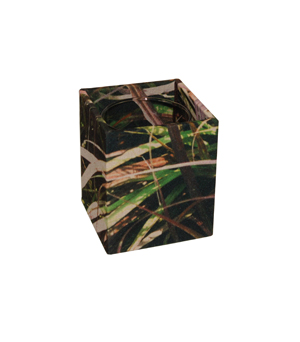 GILLES CAFFIER Polyester Cubic Vase - Small Grasses