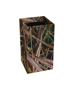 GILLES CAFFIER Polyester Cubic Vase - Medium Grasses