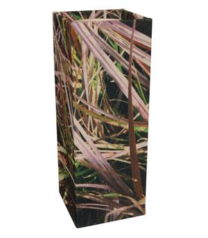 GILLES CAFFIER Polyester Cubic Vase - Large Grasses