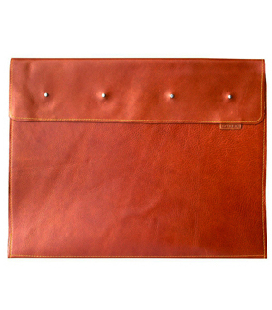GOODJOB Presentation Book A3 Dots - Leather Tan
