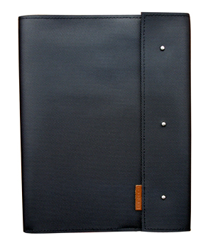 GOODJOB Notepad Holder A4 Dots - PU Black