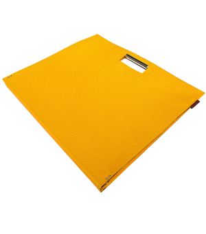 GOODJOB Document Bag Flat A3 - Yellow