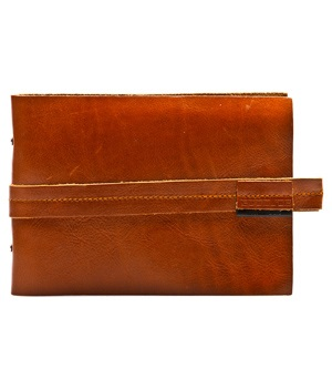 GOODJOB Photo Album Hide & Seek - Leather Tan