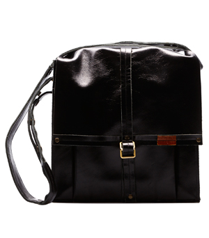 GOODJOB Shoulder Bag Hide & Seek - Leather Black