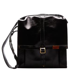 GOODJOB Shoulder Bag Hide & Seek - Leather Black