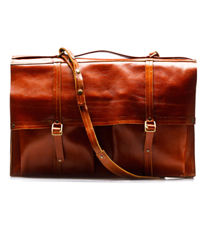 GOODJOB Portfolio Bag A3 Hide & Seek - Leather Tan