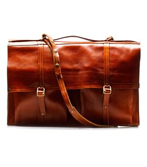 GOODJOB Portfolio Bag A3 Hide & Seek - Leather Tan