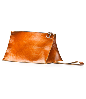 GOODJOB Bermuda Leather Bag - Tan