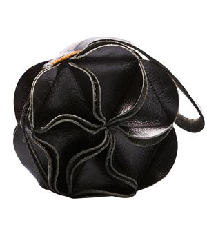 GOODJOB Purse Blossom - Leather Black
