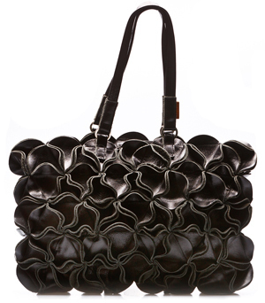 GOODJOB Handbag Blossom L - Leather Black