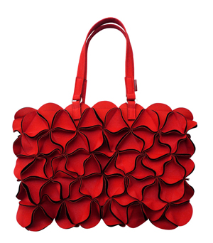 GOODJOB Blossom Handbag L - PU Red