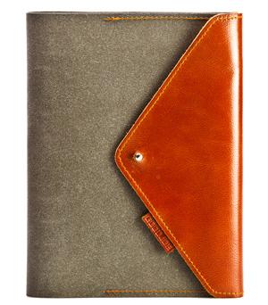 GOODJOB Organizer A5 Hybrid - Recycle Leather Grey
