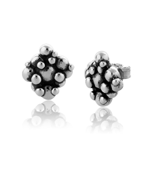 JESSICA AGGREY JEWELLERY Sterling Silver Earrings - Bubbles Stud