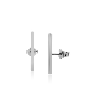 JESSICA AGGREY JEWELLERY Sterling Silver Earrings - Jen Post 20mm
