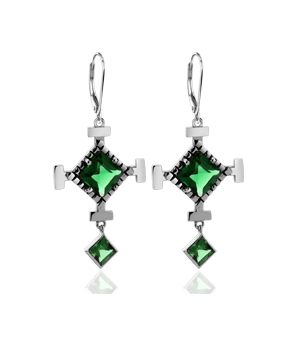 JESSICA AGGREY JEWELLERY Sterling Silver Earrings - Vision