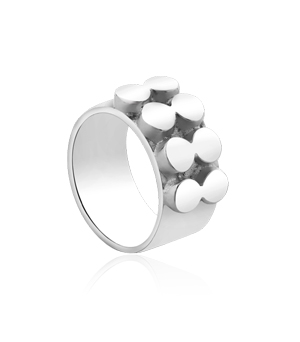 JESSICA AGGREY JEWELLERY Sterling Silver Ring - Immaculate