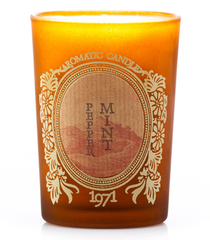 KARMAKAMET Original Glass Candle - Peppermint