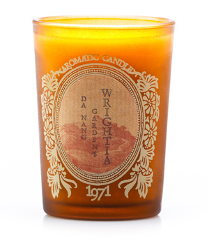 KARMAKAMET Original Glass Candle - Wrightia