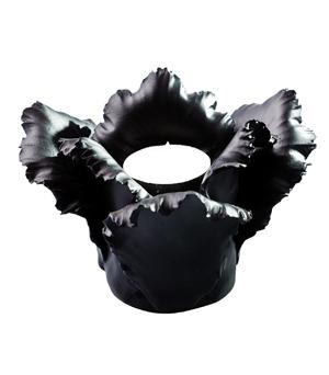 KIDDEE TAMDEE Daffodil Candle Holder - Black