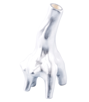 KIDDEE TAMDEE Roots Vase Small - Silver