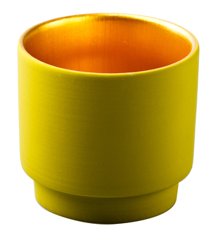 KIDDEE TAMDEE Luxury Candle Cup - Green/Gold