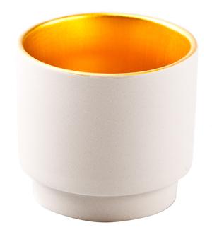 KIDDEE TAMDEE Luxury Candle Cup - Natural/Gold